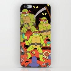 TURTLES FIGHTERS - REVENGE iPhone & iPod Skin