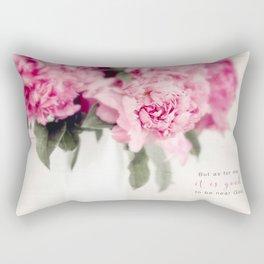 Gift Peony* Rectangular Pillow
