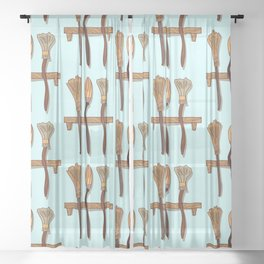 Witchy Sheer Curtain