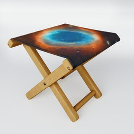 Eye Of God - Helix Nebula Folding Stool