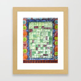 In the Mirror of Modernity Framed Art Print