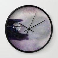 cosmic Wall Clocks featuring Cosmic  by KunstFabrik_StaticMovement Manu Jobst