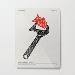 Asterisk Metal Print