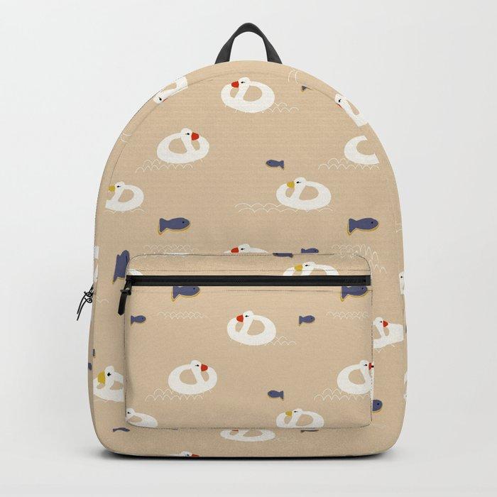 Duck Beach buoy Backpack