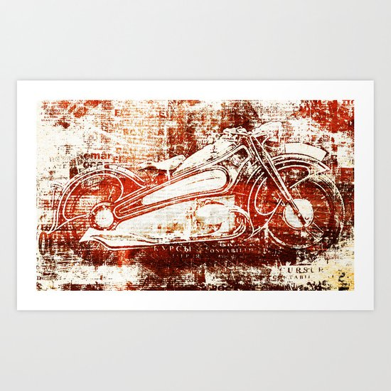Phantom Art Print