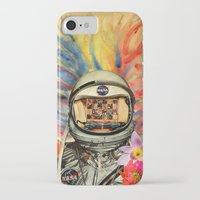 nasa iPhone & iPod Cases featuring NASA Messed Me Up by Collage Calamity