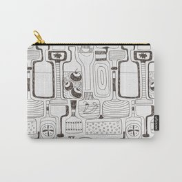 alcoholic pattern Carry-All Pouch