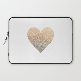 GOLD HEART Laptop Sleeve