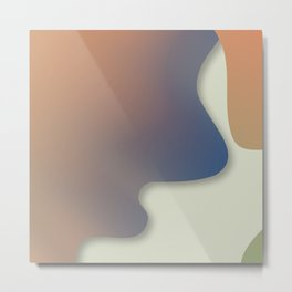 Plastic texture Metal Print