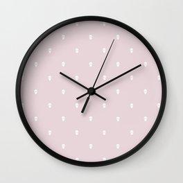 DAINTY SKULLS Wall Clock