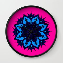 Kids Mandala Wall Clock