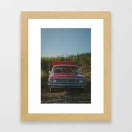 Galaxie Framed Art Print