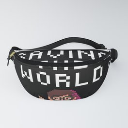 Nerds Save The World Fanny Pack
