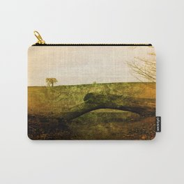 Textured Field Carry-All Pouch