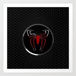 Spider Logo Art Print