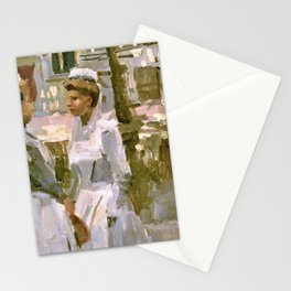 Isaac Lazarus Israels - Amsterdam Maids - Digital Remastered Edition Stationery Cards