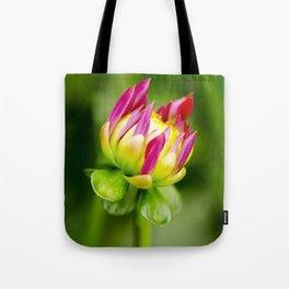 Karma Thalia Dahlia In Bloom Tote Bag
