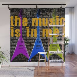 The Music is in Me! Wall Mural