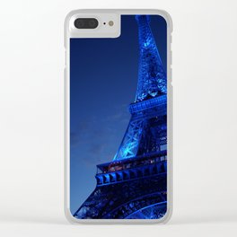A Night in Paris - The Eiffel Tower Clear iPhone Case