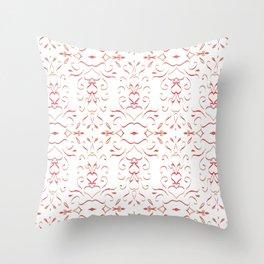 Valentine 3 pattern Throw Pillow