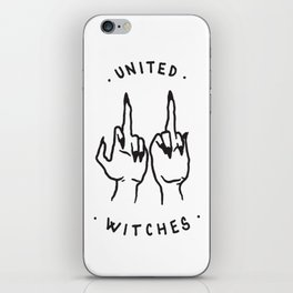 United Witches iPhone Skin