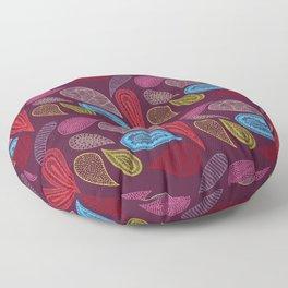 paisley  Floor Pillow