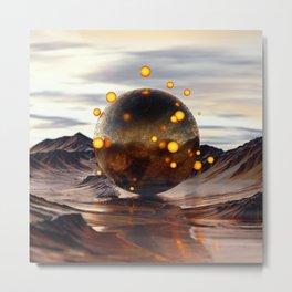 [01-09-16] - Gravity Metal Print