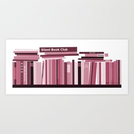 TBR Shelf Art Print