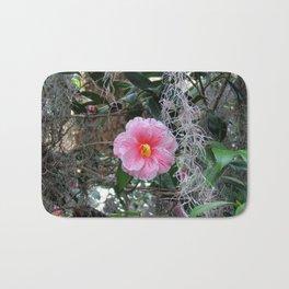 Southern Pink Camellia Bath Mat
