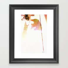 Let's Stroll! Framed Art Print