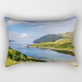 Camas nan Geall 2 Ardnamurchan Scotland Rectangular Pillow