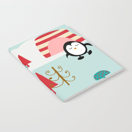 Oriana Penguin blue Notebook