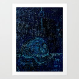 The Skull and the Key Art Print