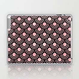 Mermaid Scales in Pink Gold Laptop & iPad Skin