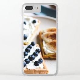 Cinnamon Toast Clear iPhone Case