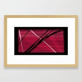 Take Care. Framed Art Print