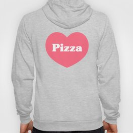 Heart Pizza Hoody