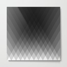 Minimalist triangles Metal Print