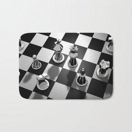 Chess 2 Bath Mat