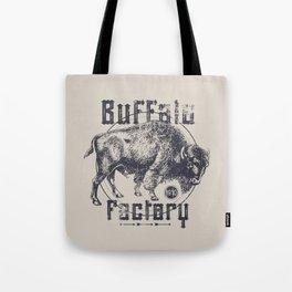 BUFFALO FACTORY  Vintage Buffalo Tote Bag