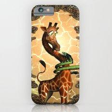 Giraffe and dragon iPhone 6s Slim Case
