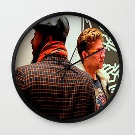 Hey, You Can Wear My Scarf Wall Clock