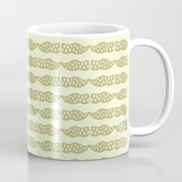 Dutch clogs with tulip pattern green Coffee Mug