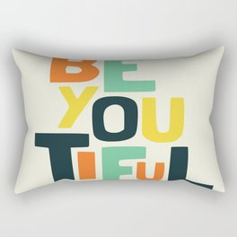 Be you! Rectangular Pillow