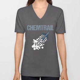 Chemtrail Unisex V-Neck