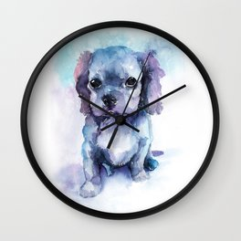 DOG #14 Wall Clock