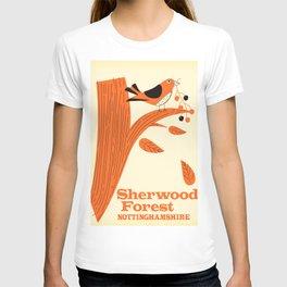 Sherwood Forest, Nottinghamshire T-shirt