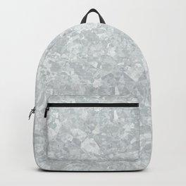 Galvanized Metal Backpack