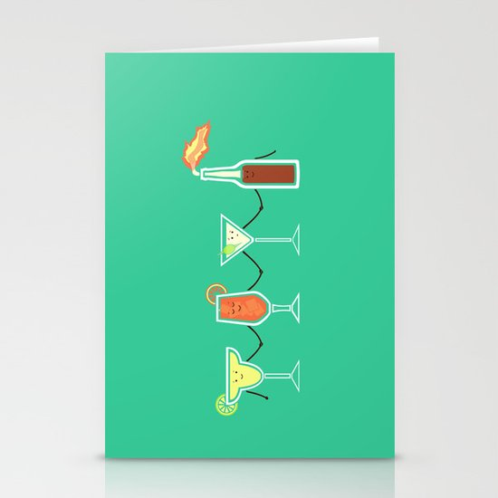 Cocktails! Stationery Cards