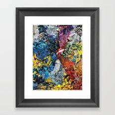 The XMen Framed Art Print